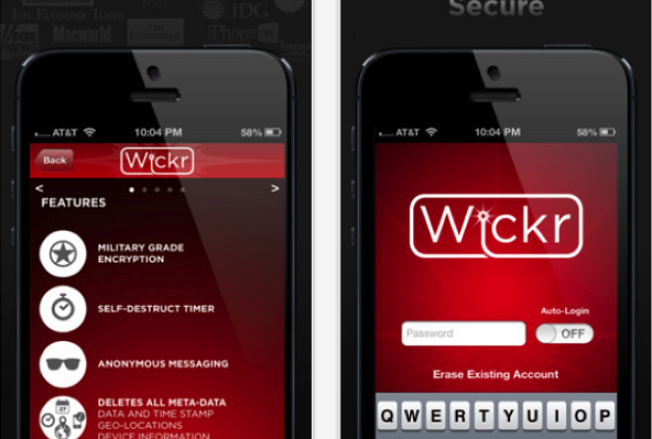 Wickr safe